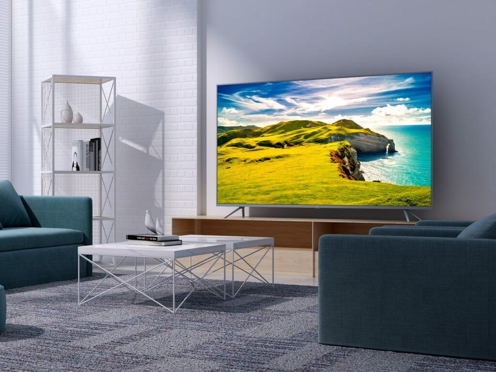 55-дюймовый телевизор с HDR10