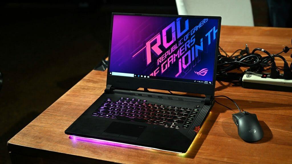 Игровой ноутбук с 16 гигабайт оперативной памяти