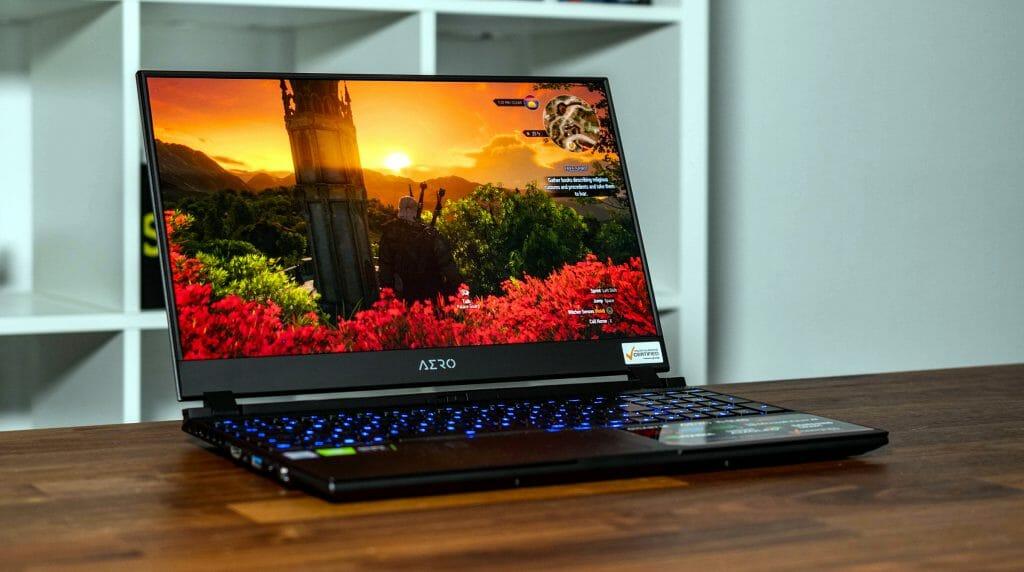 Игровой ноутбук с 4К-дисплеем