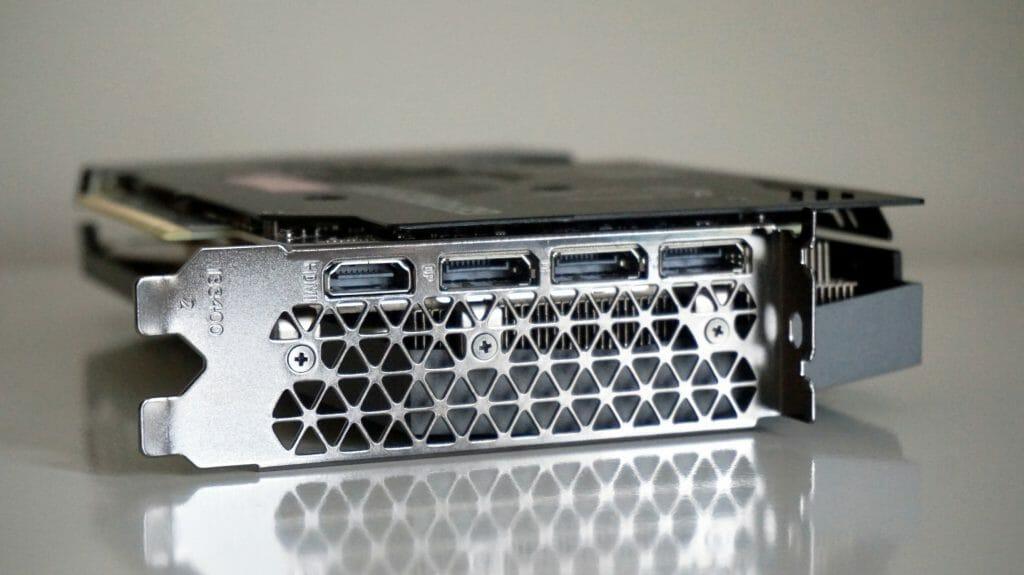 Набор портов видеокарты GeForce 3070