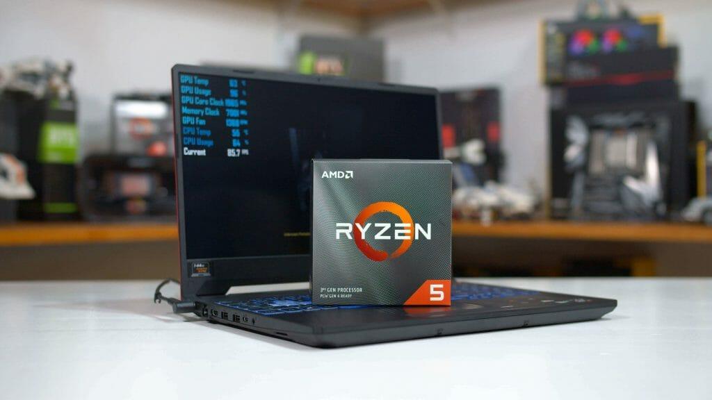Ноутбук для геймера с Ryzen 5