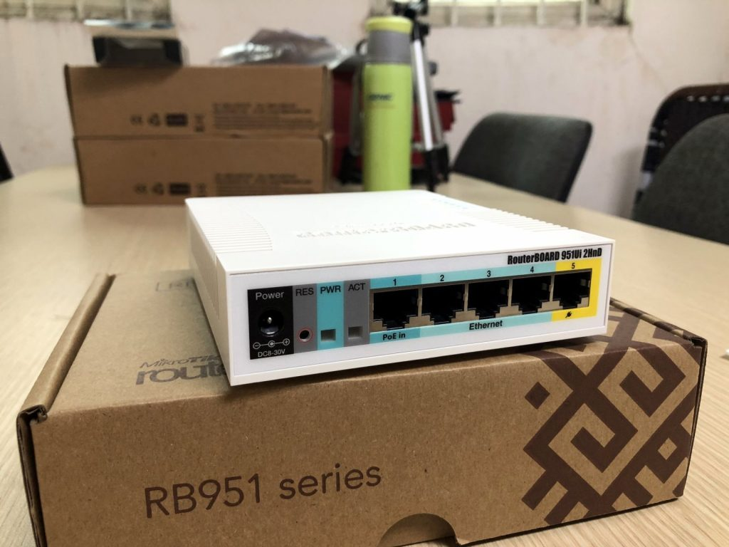 Роутер с быстрыми LAN-портами