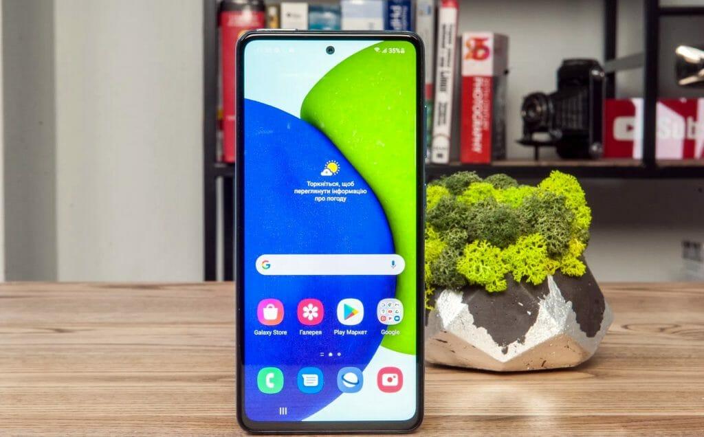 Телефон Samsung с AMOLED экраном
