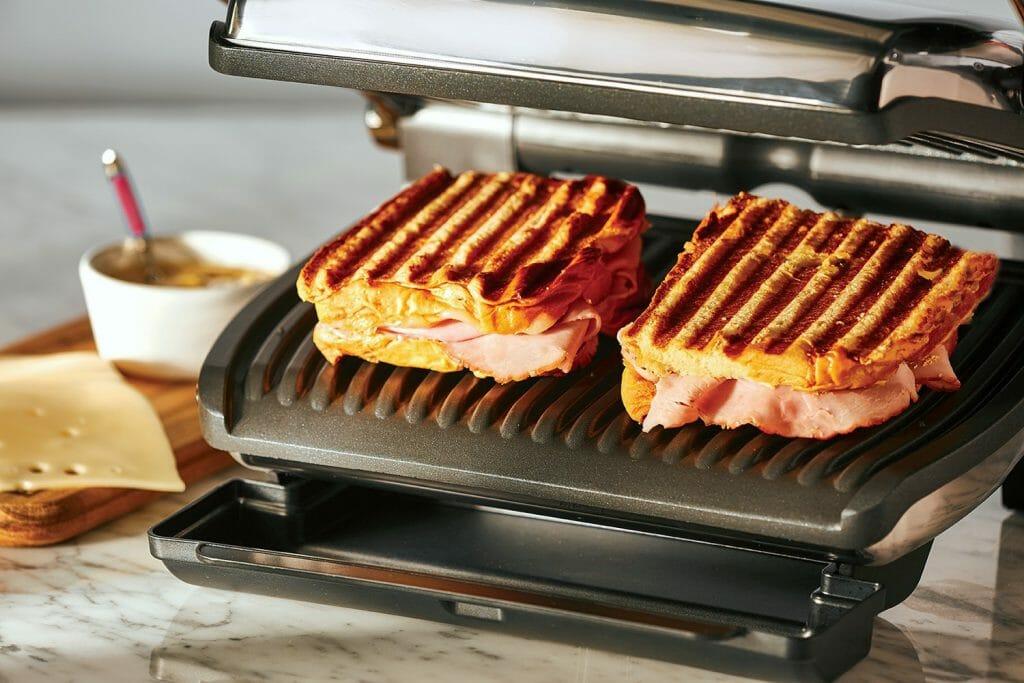 Бутерброды на электрогриле