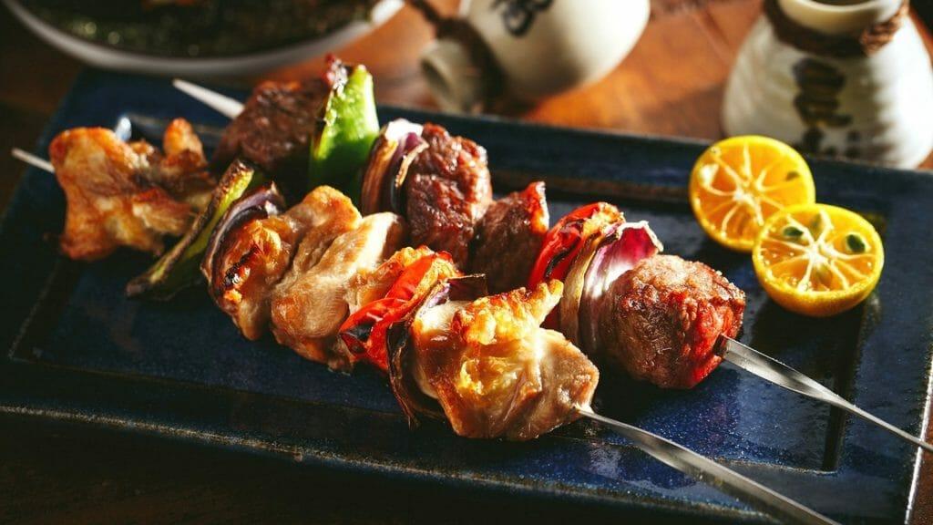 Мясо на шампуре