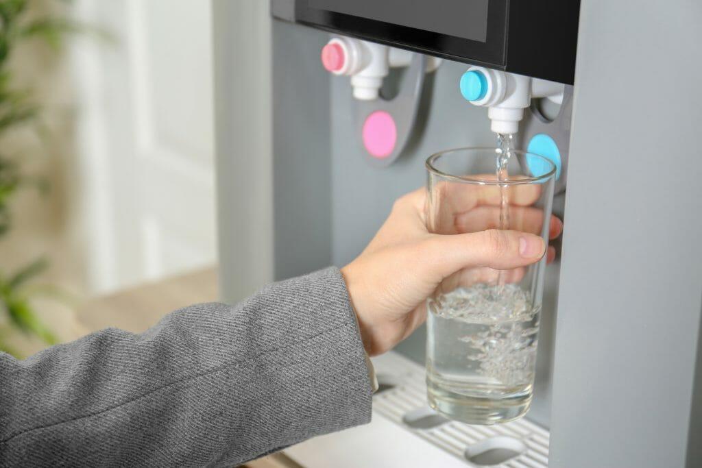Использование кулера для воды
