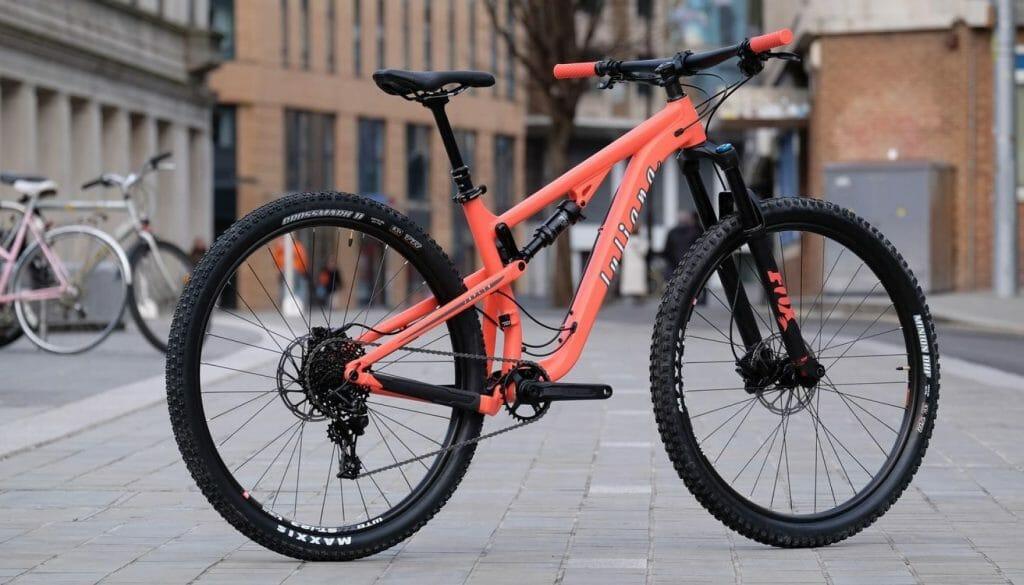Заметный горный велосипед для женщин