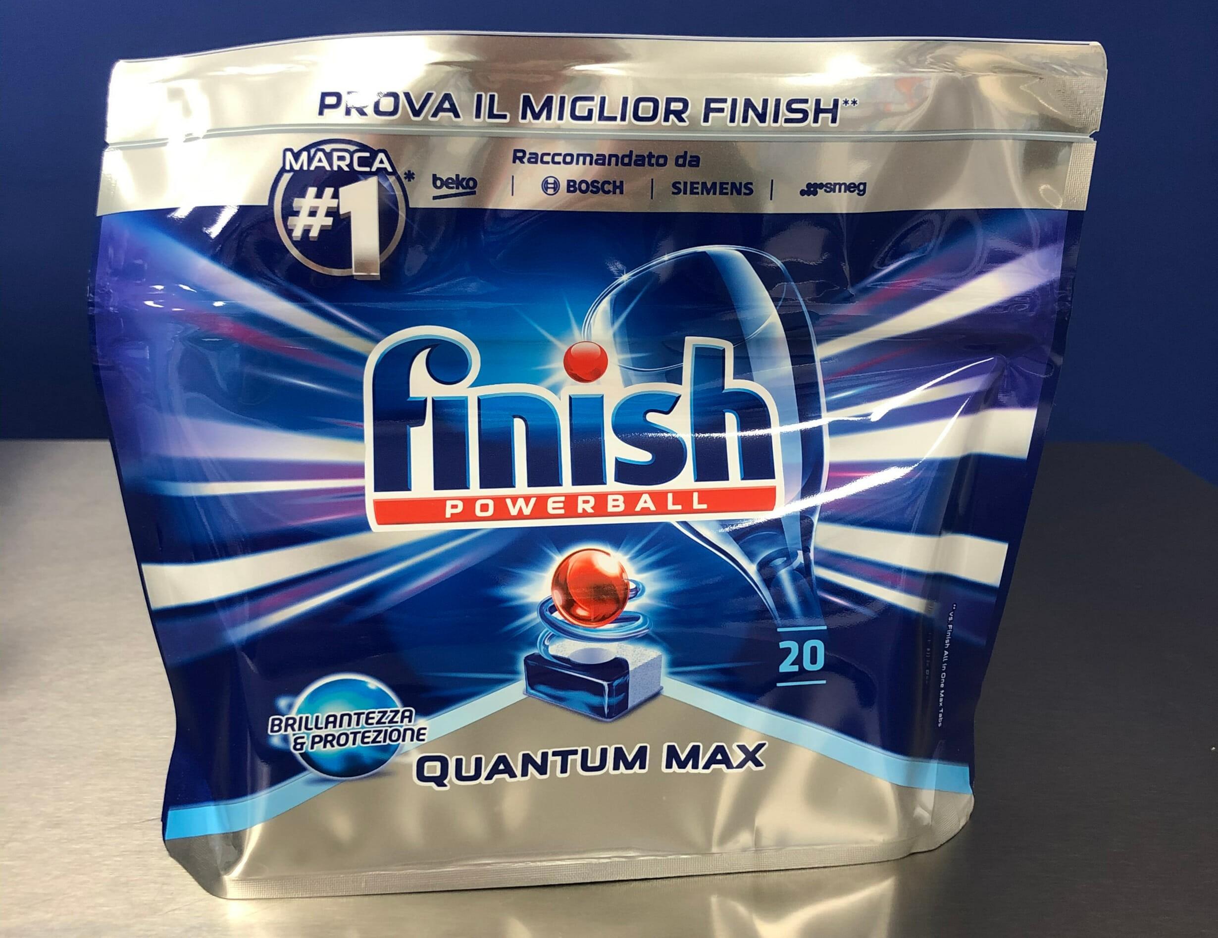 Таблетки для посудомоечной машины марки Финиш