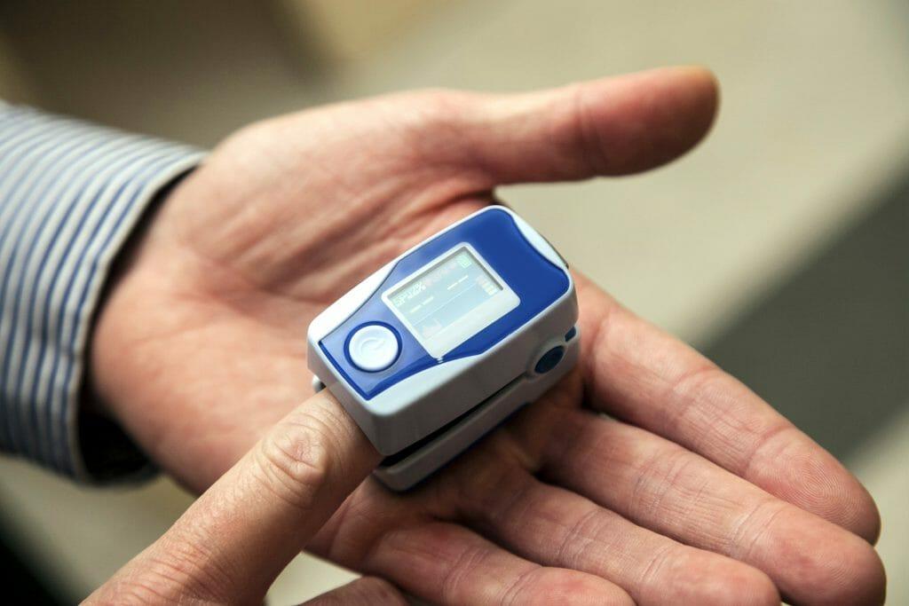 Использование пульсоксиметра