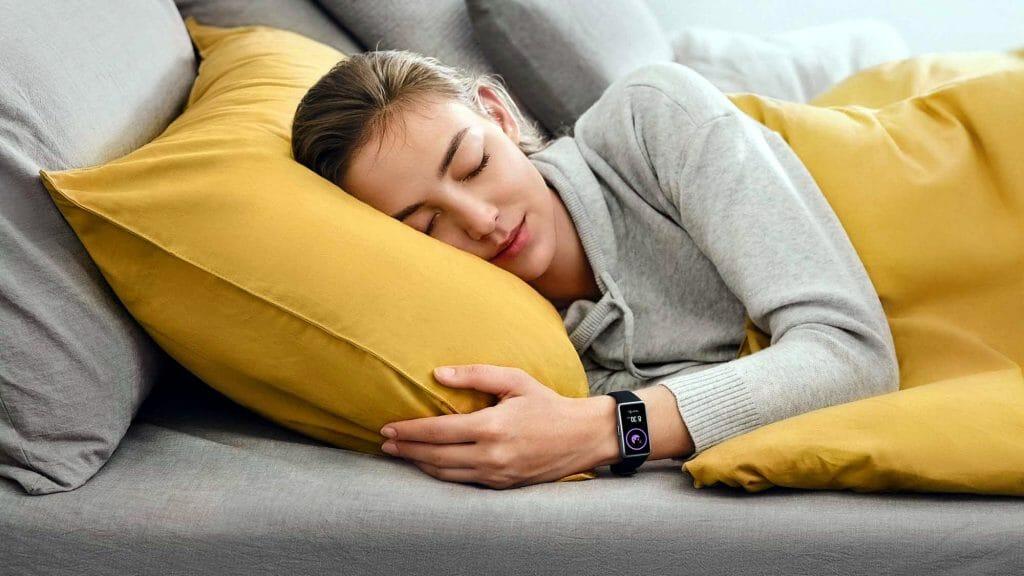 Отслеживание фаз сна фитнес-браслетом