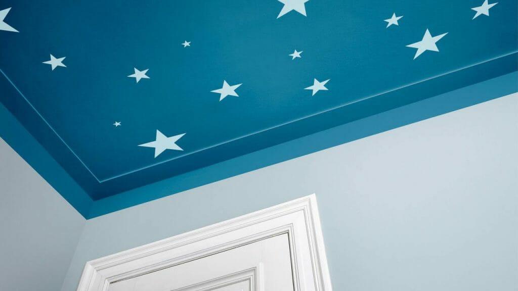 Пастельный потолок