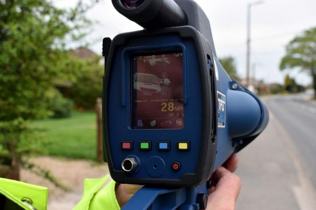 Портативный полицейский радар