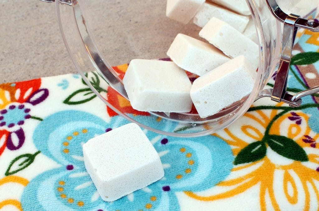 Самодельные таблетки для посудомойки