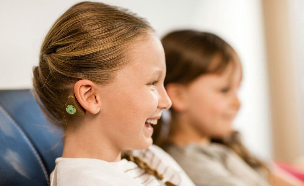 Детский слуховой аппарат