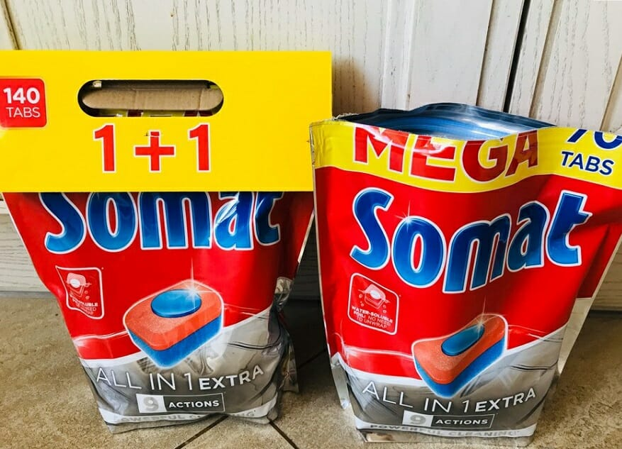 Таблетки Somat All in 1 Extra