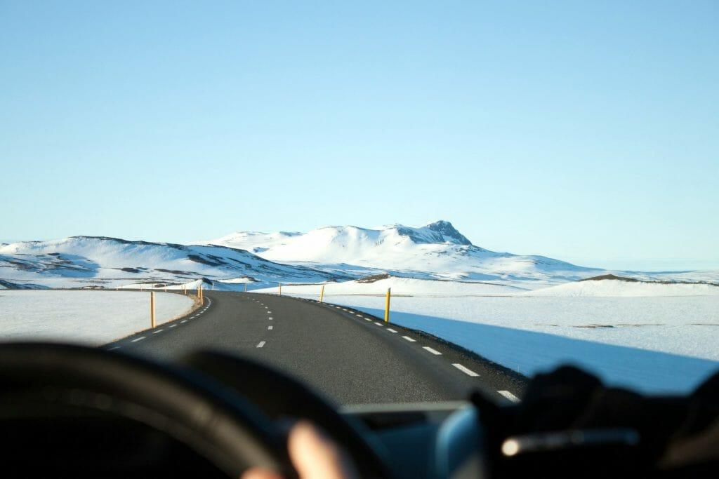За рулем зимой