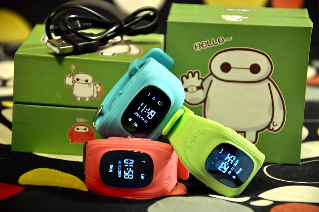 Детские смарт-часы с GPS