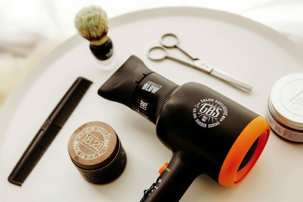 Фен для волос вид сбоку