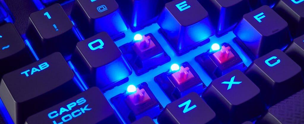 Подсветка механической клавиатуры
