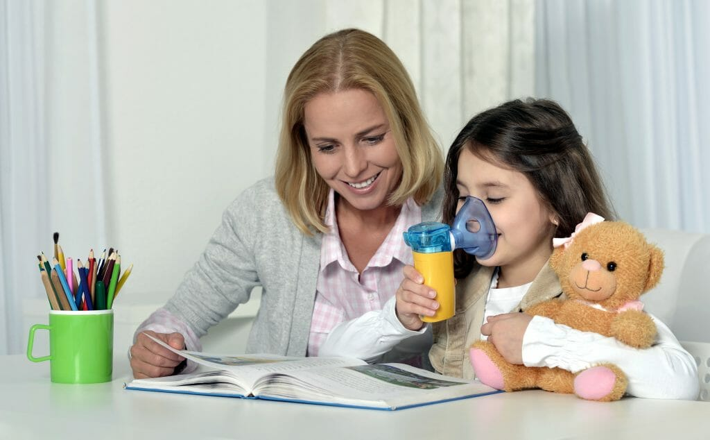 Меш-ингалятор для ребенка