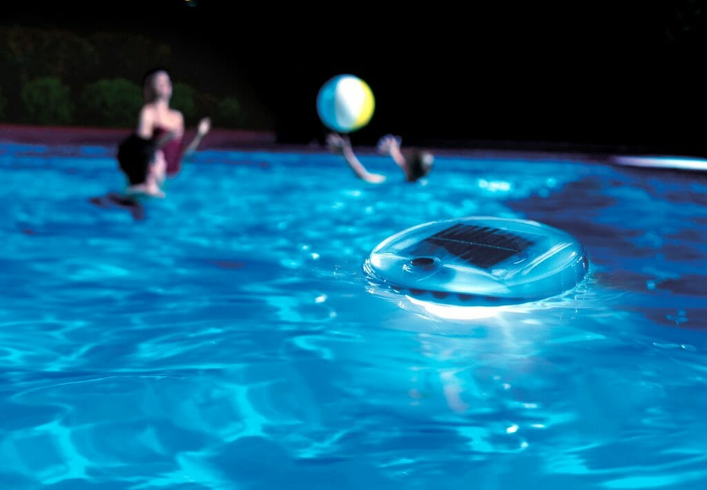 Плавающий светильник для бассейна