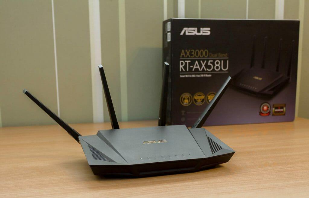Роутер с поддержкой Wi-Fi 6