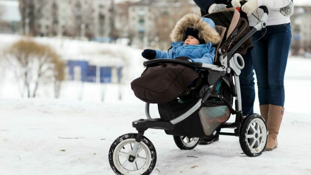 Трехколесная коляска для прогулок