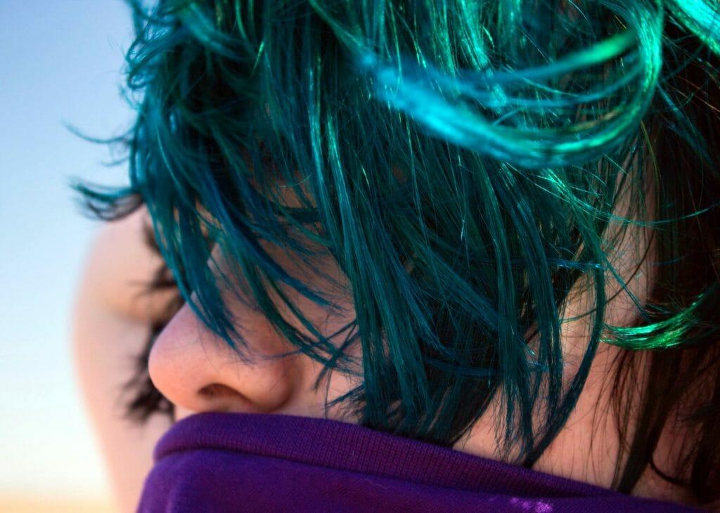 Временная краска для волос