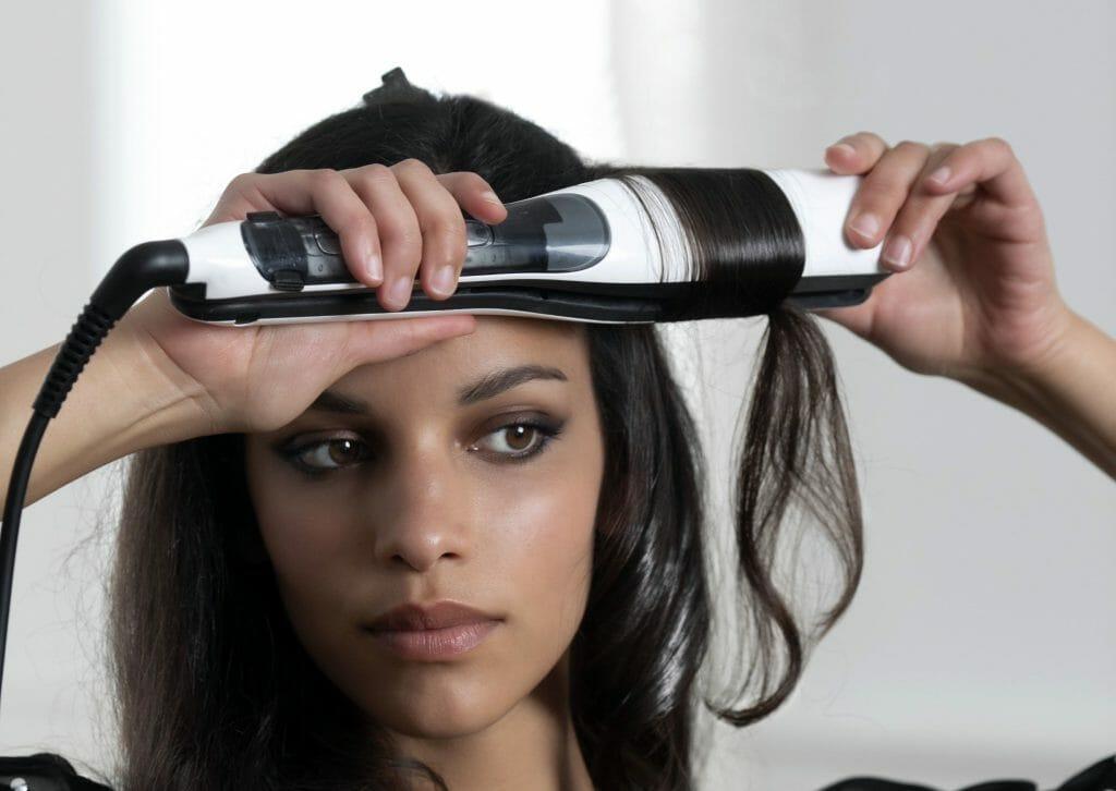 Выпрямитель для волос с покрытием турмалином