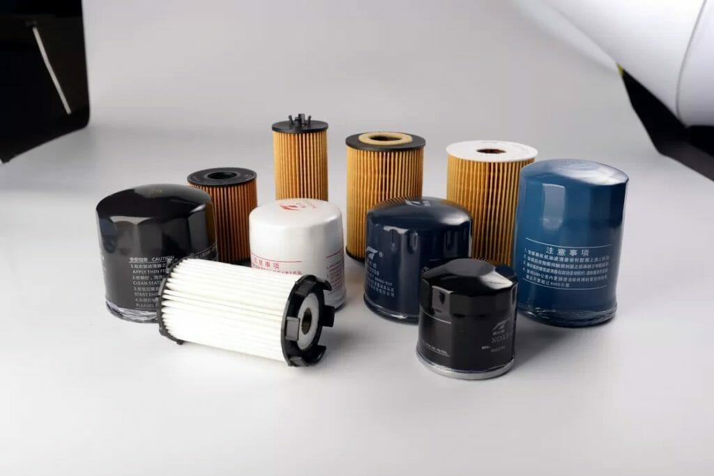 Масляные фильтры разных размеров
